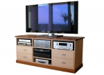 EU 56 - All our Entertainment Units can be customized in size to suit your individual room. They can be made with a variety of solid timbers including Tasmanian Blackwood, Blue Gum, Tasmanian Oak, Jarrah, Blackbutt and many more. Give us a call with your requirements for an obligation free quote.