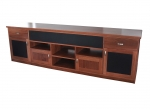EU95 - All our Entertainment Units can be customized in size to suit your individual room. They can be made with a variety of solid timbers including Tasmanian Blackwood, Blue Gum, Tasmanian Oak, Jarrah, Blackbutt and many more. Give us a call with your requirements for an obligation free quote.