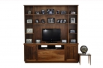 EU 154 is made in Tas Blackwood - 1920(w) x 2050(h) x 450 & 280(d)- All our Entertainment Units can be customized in size to suit your individual room. They can be made with a variety of solid timbers including Tasmanian Blackwood, Blue Gum, Tasmanian Oak, Jarrah, Blackbutt and many more. Give us a call with your requirements for an obligation free quote.