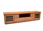 EU77 - All our Entertainment Units can be customized in size to suit your individual room. They can be made with a variety of solid timbers including Tasmanian Blackwood, Blue Gum, Tasmanian Oak, Jarrah, Blackbutt and many more. Give us a call with your requirements for an obligation free quote.