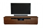 EU 153 made in Blue Gum - 2500(w) x 540(h) x 450d - All our Entertainment Units can be customized in size to suit your individual room. They can be made with a variety of solid timbers including Tasmanian Blackwood, Blue Gum, Tasmanian Oak, Jarrah, Blackbutt and many more. Give us a call with your requirements for an obligation free quote.