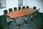 All our Boardroom Tables can be custom built to your exact requirements, in any timber or coloured to match.