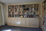 Custom made Library Units in Rock Maple