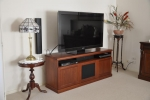 EU 96 - All our Entertainment Units can be customized in size to suit your individual room. They can be made with a variety of solid timbers including Tasmanian Blackwood, Blue Gum, Tasmanian Oak, Jarrah, Blackbutt and many more. Give us a call with your requirements for an obligation free quote.