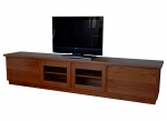 EU 98 - All our Entertainment Units can be customized in size to suit your individual room. They can be made with a variety of solid timbers including Tasmanian Blackwood, Blue Gum, Tasmanian Oak, Jarrah, Blackbutt and many more. Give us a call with your requirements for an obligation free quote.