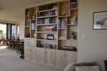 Custom Wall Unit in Canadian Rock Maple - 2630w x 2570h x 340d