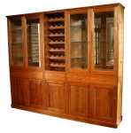 WU 20 - Tasmanian Blackwood wall unit - 2360(w) x 1980(h) x370(d)