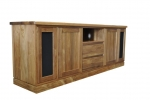 EU 124 - All our Entertainment Units can be customized in size to suit your individual room. They can be made with a variety of solid timbers including Tasmanian Blackwood, Blue Gum, Tasmanian Oak, Jarrah, Blackbutt and many more. Give us a call with your requirements for an obligation free quote.
