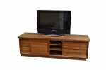 EU 131 - All our Entertainment Units can be customized in size to suit your individual room. They can be made with a variety of solid timbers including Tasmanian Blackwood, Blue Gum, Tasmanian Oak, Jarrah, Blackbutt and many more. Give us a call with your requirements for an obligation free quote.