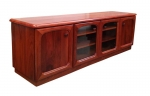 EU 123 - All our Entertainment Units can be customized in size to suit your individual room. They can be made with a variety of solid timbers including Tasmanian Blackwood, Blue Gum, Tasmanian Oak, Jarrah, Blackbutt and many more. Give us a call with your requirements for an obligation free quote.