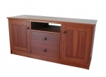 EU 30 - All our Entertainment Units can be customized in size to suit your individual room. They can be made with a variety of solid timbers including Tasmanian Blackwood, Blue Gum, Tasmanian Oak, Jarrah, Blackbutt and many more. Give us a call with your requirements for an obligation free quote.