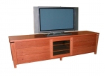 EU 39 - Metropolis - All our Entertainment Units can be customized in size to suit your individual room. They can be made with a variety of solid timbers including Tasmanian Blackwood, Blue Gum, Tasmanian Oak, Jarrah, Blackbutt and many more. Give us a call with your requirements for an obligation free quote.