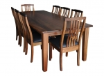 Galston Dining Tables - The Glaston Table is available in all our currently available timbers.
