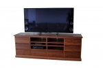 EU 152 in WA Jarrah - 2000(w) x 720(h) x 450(d) - featuring soft close drawers - All our Entertainment Units can be customized in size to suit your individual room. They can be made with a variety of solid timbers including Tasmanian Blackwood, Blue Gum, Tasmanian Oak, Jarrah, Blackbutt and many more. Give us a call with your requirements for an obligation free quote.