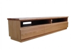EU 136 - All our Entertainment Units can be customized in size to suit your individual room. They can be made with a variety of solid timbers including Tasmanian Blackwood, Blue Gum, Tasmanian Oak, Jarrah, Blackbutt and many more. Give us a call with your requirements for an obligation free quote.