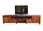 Eu 85 - All our Entertainment Units can be customized in size to suit your individual room. They can be made with a variety of solid timbers including Tasmanian Blackwood, Blue Gum, Tasmanian Oak, Jarrah, Blackbutt and many more. Give us a call with your requirements for an obligation free quote.